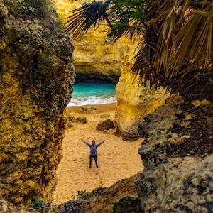 seguimosdeviaje praia secreta cueva copia